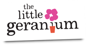 The Little Geranium Logo
