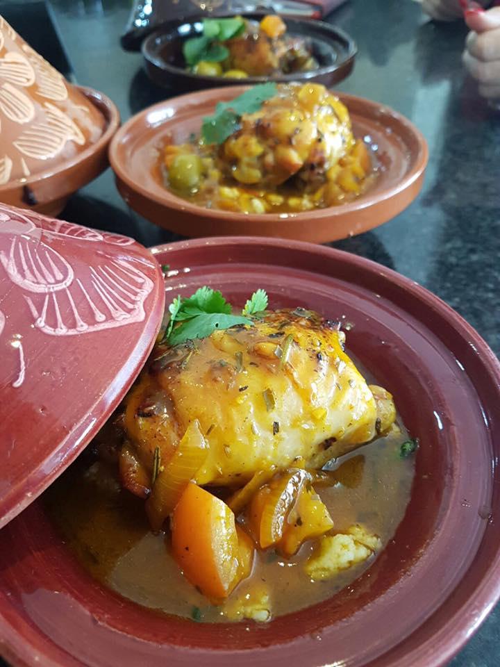 Mini Chicken Tagine, lemon and olive cous cous