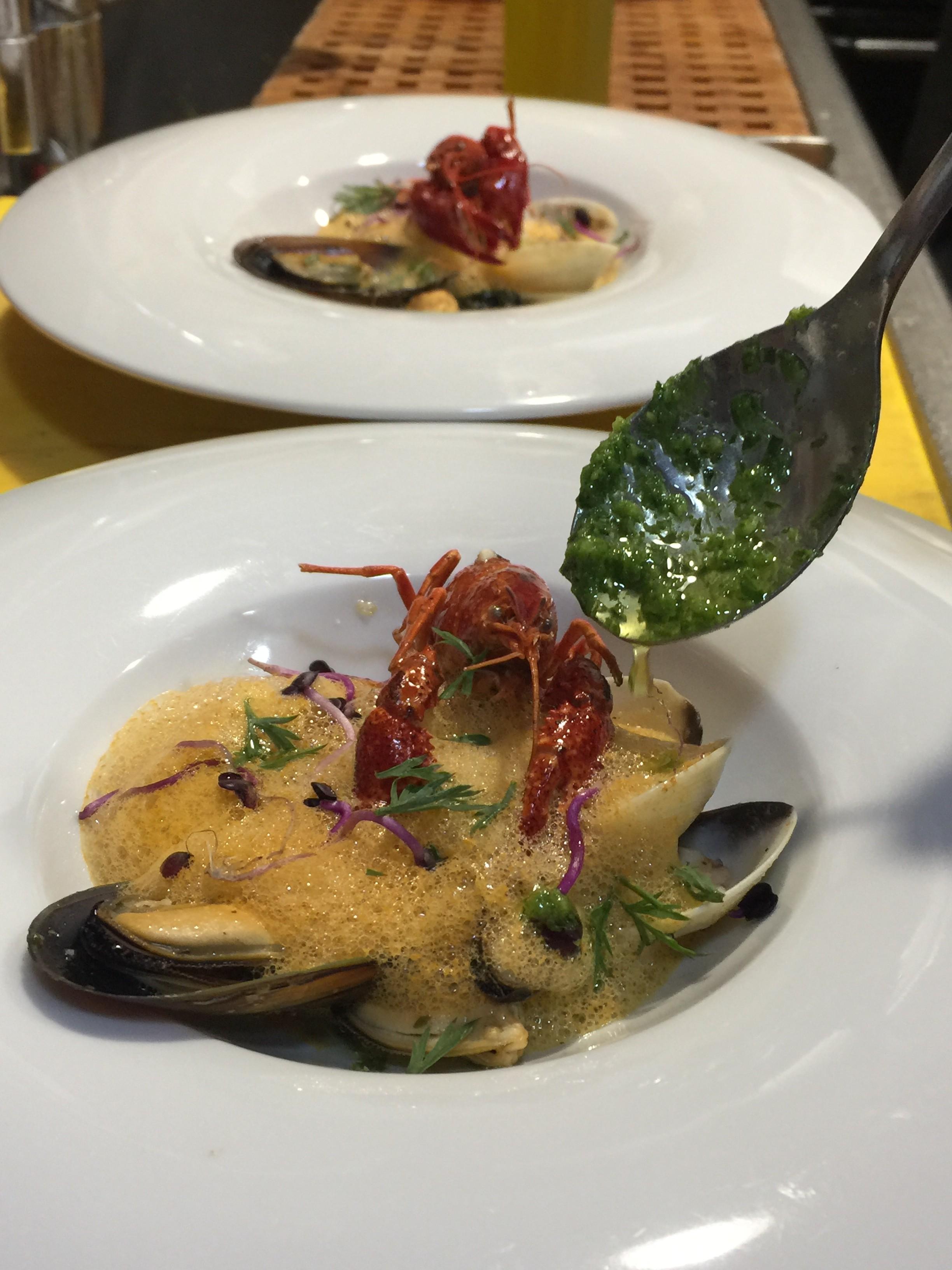Melange of Seafood