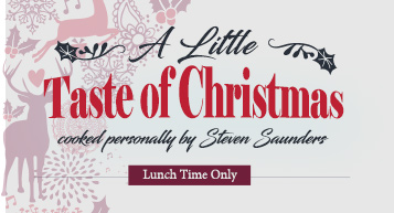 Little Taste of Christmas Lunch 5 Course Tasting Menu
