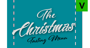 Vegetarian - The Christmas Tasting Menu Evening only