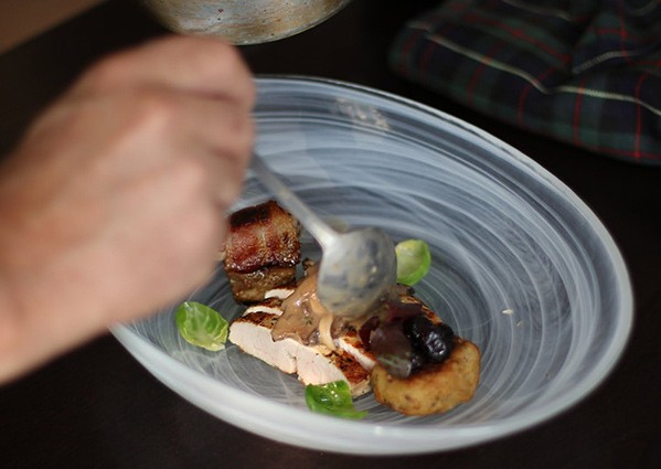 Steven Saunders Masterclass Cookery School